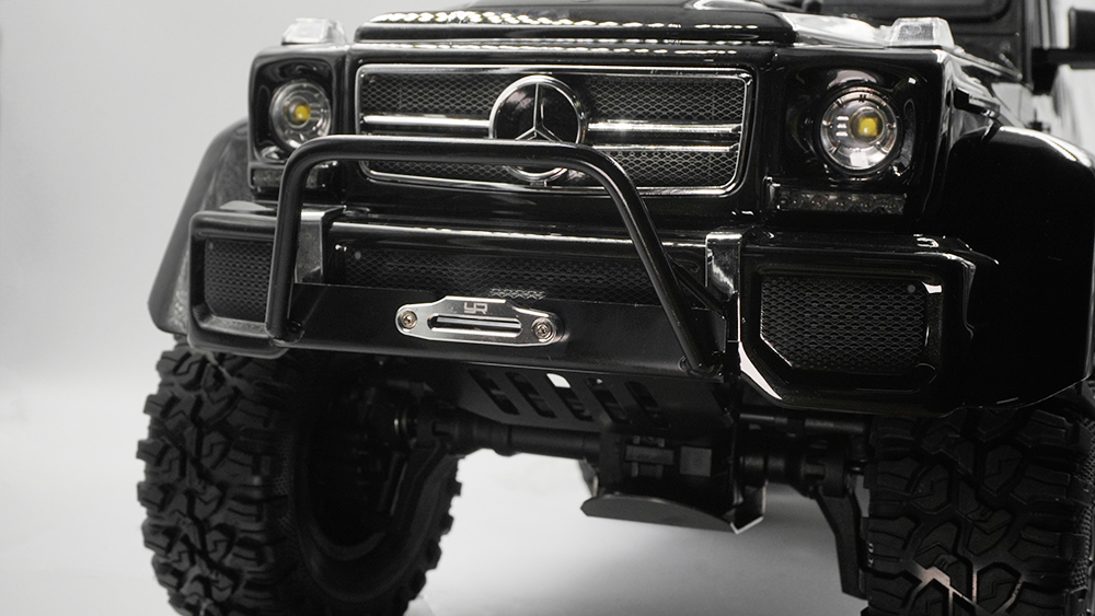 Yeah Racing Front Metal Bumper For Traxxas TRX-4 TRX4-6 #TRX4-074