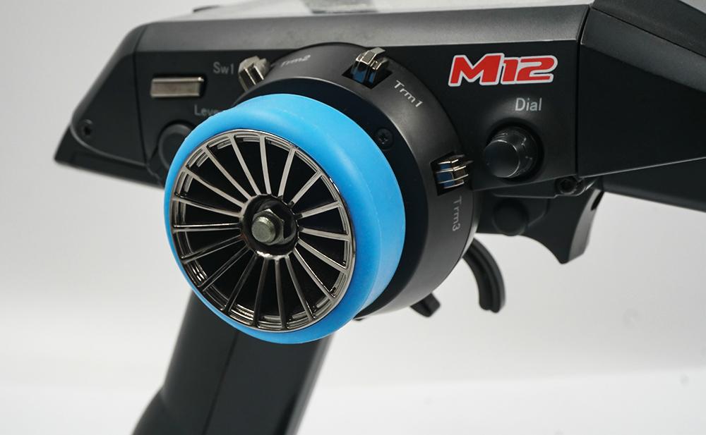 Yeah Racing Transmitter Steering Wheel Grip Black #YA-0617BK