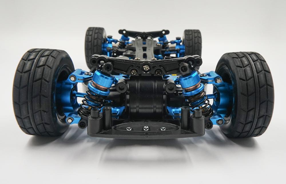 Yeah Racing Rapid Performance Conversion Kit Blue For Tamiya TT-01 TT-01E #TATT-S05BU