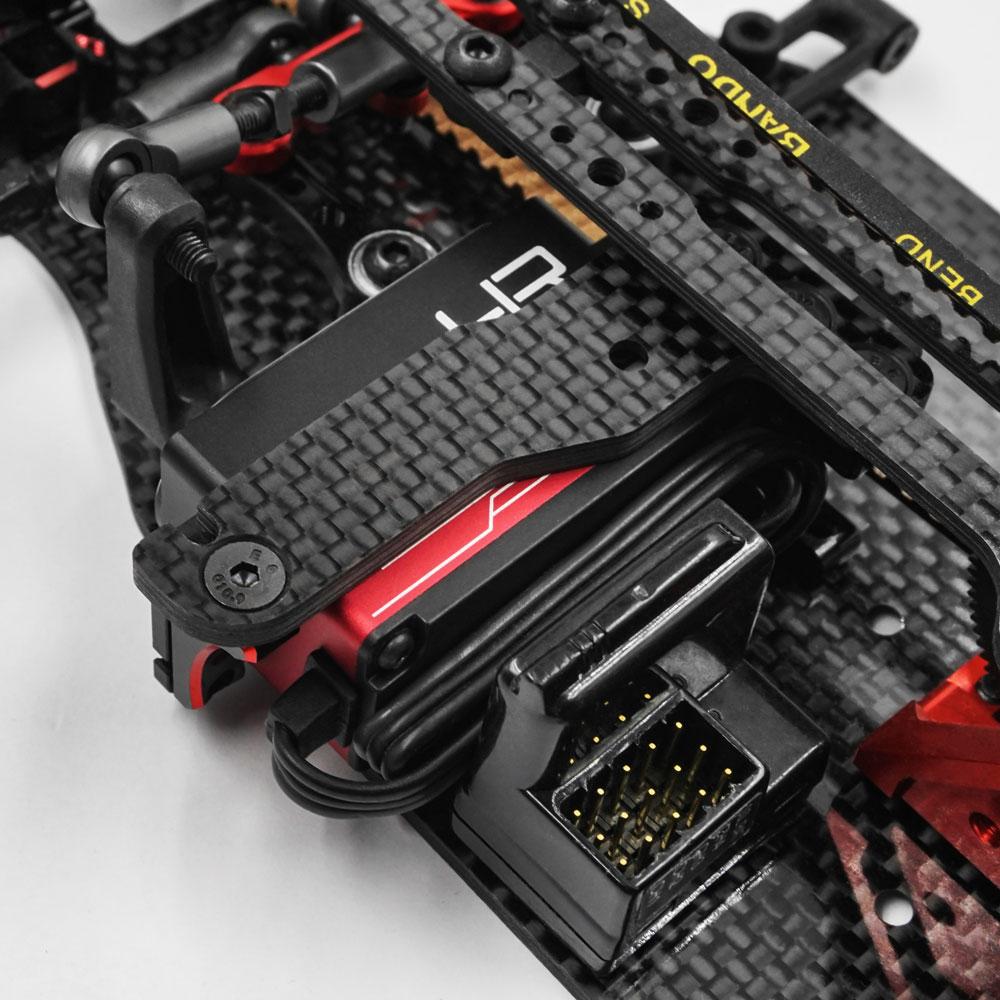 Aluminum Case Low Profile Digital High Speed Coreless Servo For 1/10 RC