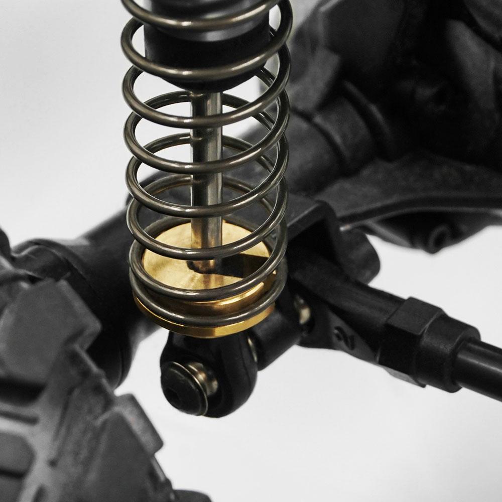 Yeah Racing Aluminum Essential Conversion Kit For Traxxas Ford GT 4 Tec 2.0 Black #TEC4-S01BK